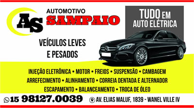 Automotivo Sampaio  Sorocaba SP